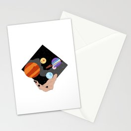 Space Mage Stationery Cards
