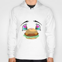 puppycat Hoodies featuring Can i have some? by Fantasma's Fantastic Artistry