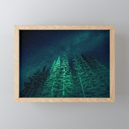 Star Signal - Nature Photography Framed Mini Art Print