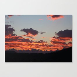 Aegean Sunset Canvas Print