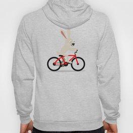 Bunny riding bike Hoody