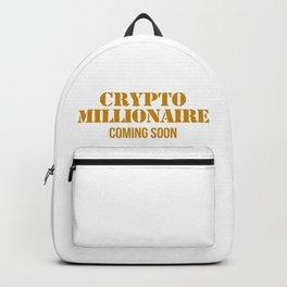 CRYPTO MILLIONAIRE Backpack