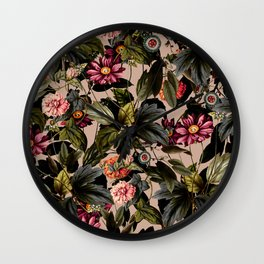 Vintage Garden II Wall Clock