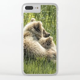 Best Friends Fur Ever - Bear Cubs, No. 8 Clear iPhone Case