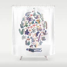 nature creator Shower Curtain