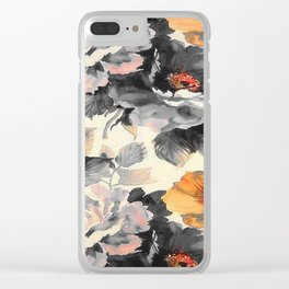 FLOWER PATTERN6 Clear iPhone Case