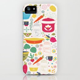 Eat Your Veggies! iPhone Case