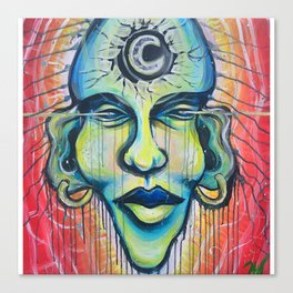 Moon God Canvas Print