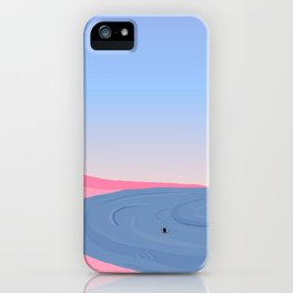 Never Alone // On Your Own iPhone Case