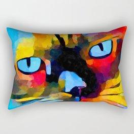 Cat 5 Rectangular Pillow