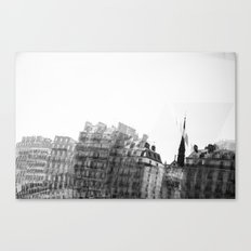 I dreamt in black and white once Canvas Print