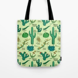 Native Desert Plants Tote Bag