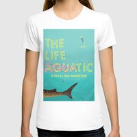tenenbaums T-shirts featuring The Life Aquatic by Wharton