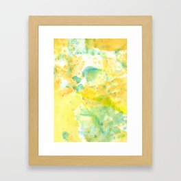 Color of the Kid Framed Art Print