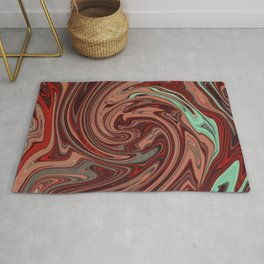 Red Portal Rug