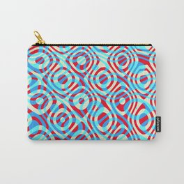 Mixed Polyps Red Blue - Coral Reef Series 035 Carry-All Pouch