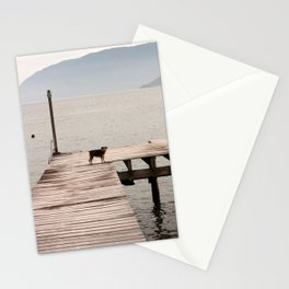 A Dog by the Sea Stationery Cards