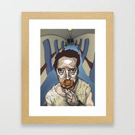 Man inside his mind.... (aka clifton) Framed Art Print