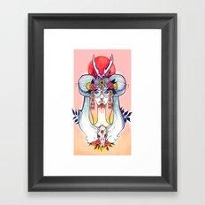 Hooves & Hammer Framed Art Print