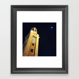 The Clock Tower Framed Art Print