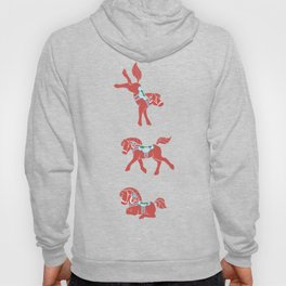 Lovely Little Dala Horses Hoody