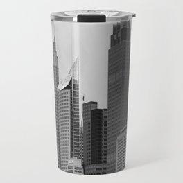 Retro Skyline Travel Mug