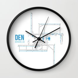 DEN Wall Clock