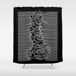 Joy Dickvision Shower Curtain