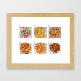 All American Ingredients - General Mills Framed Art Print