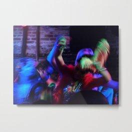 Dancing, 2011.  New Orleans, LA. Metal Print
