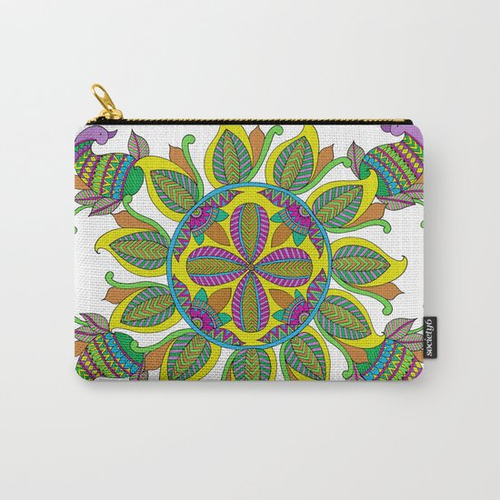 Geometric Shape Series - Circle Carry-All Pouch