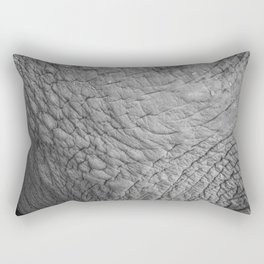Wildlife Collection: Elephant Skin Rectangular Pillow