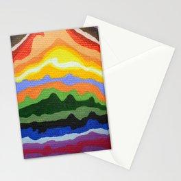 Mini Mountain Stripes Stationery Cards