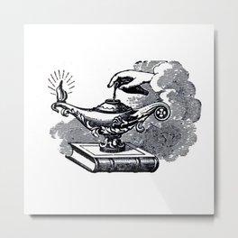 Magic lamp Metal Print