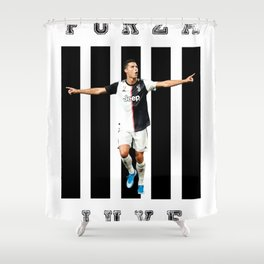 football star Shower Curtain