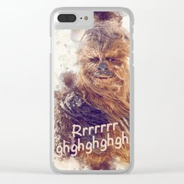 Chewbacca Loves You Clear iPhone Case