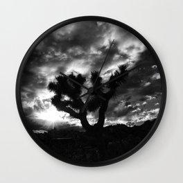 Black Waltz. Wall Clock