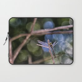 Dragon Fly in Forest Laptop Sleeve