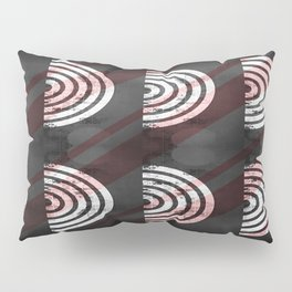 Target Record With Stripes Pillow Sham
