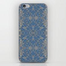 Frozen Blue iPhone Skin