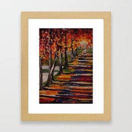 Autumn Tranquility Framed Art Print