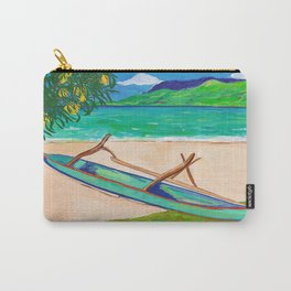 Tahiti Outrigger Carry-All Pouch