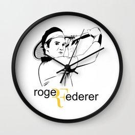 rogeRFederer Wall Clock