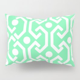 Ethnic Pattern (Mint) Pillow Sham
