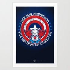 The real American hero Art Print