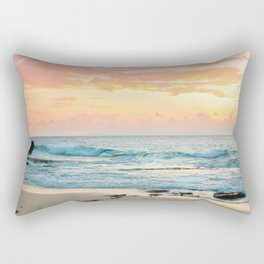 Honolulu Sunrise Rectangular Pillow