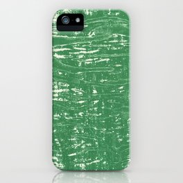 NYC Walls (zelen v.3) iPhone Case