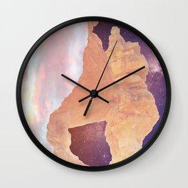 Skies and Red Rocks Wall Clock