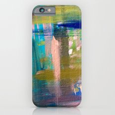 Weekend Getaway - a mixed media piece iPhone 6s Slim Case