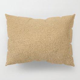 Gold leather texture Pillow Sham